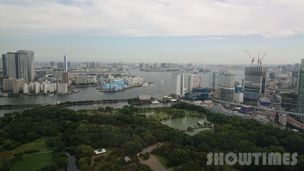 コンラッド東京ベイビュースイートからの眺望2