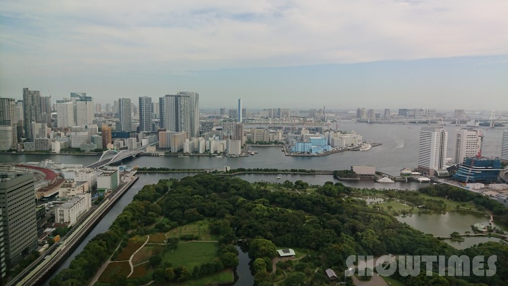 コンラッド東京ベイビュースイートからの眺望1