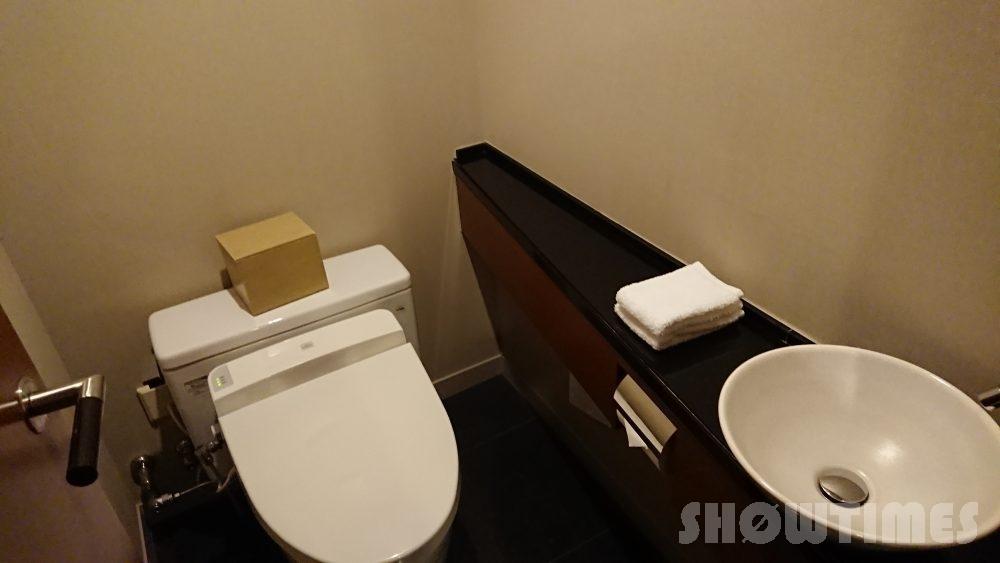 ハイアットリージェンシー東京のビューデラックスルームのトイレ
