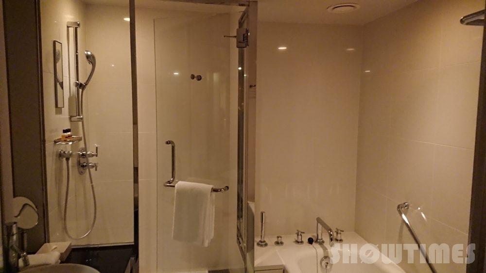 ハイアットリージェンシー東京のビューデラックスルームのバスルーム