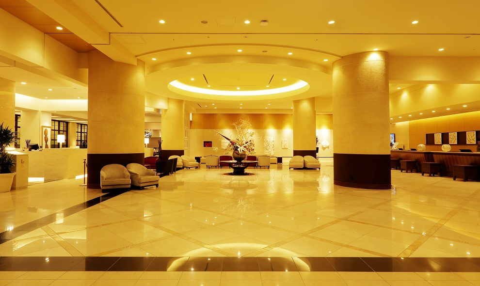 JRタワーホテル日航札幌のロビーフロント