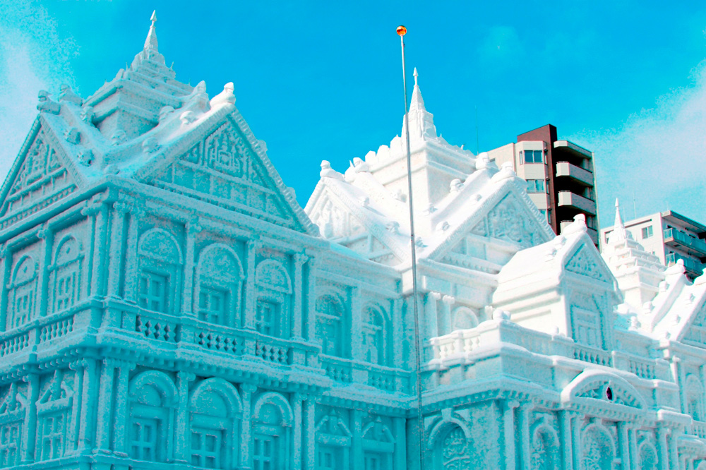 さっぽろ雪まつり大通会場の大雪像