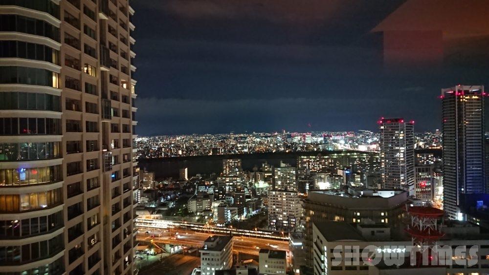 インターコンチネンタルホテル大阪デラックスダブルからの眺望2