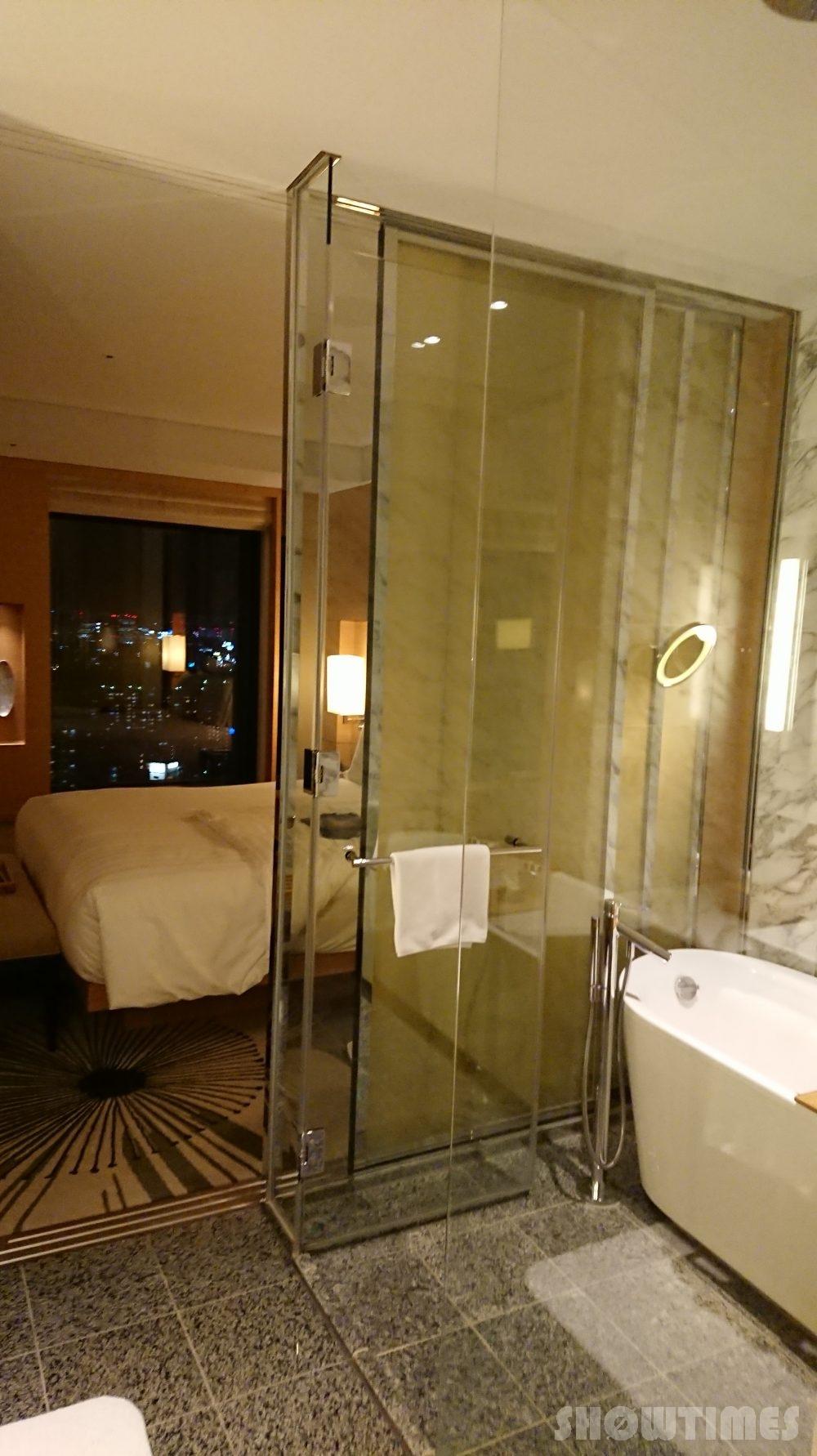 インターコンチネンタルホテル大阪デラックスダブルのバスルーム2