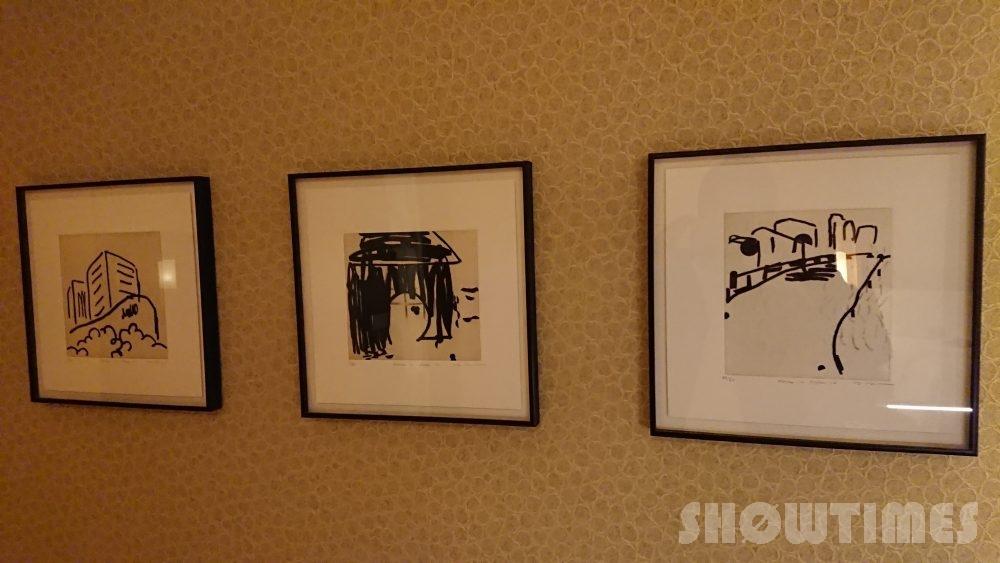 インターコンチネンタルホテル大阪デラックスダブルの壁掛け絵画
