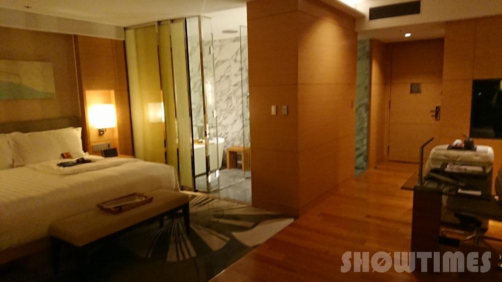 インターコンチネンタルホテル大阪デラックスダブルのベッドルーム2