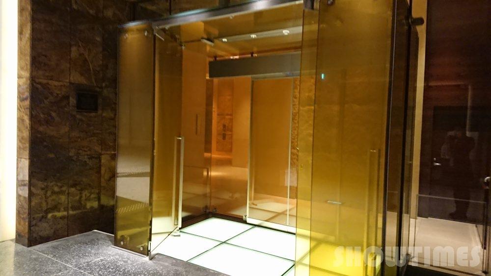 グランフロント大阪内のインターコンチネンタルホテル大阪入り口2