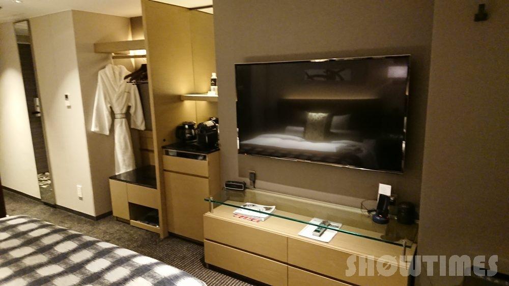 ホテルニューオータニ(東京)新江戸シングルのテレビ