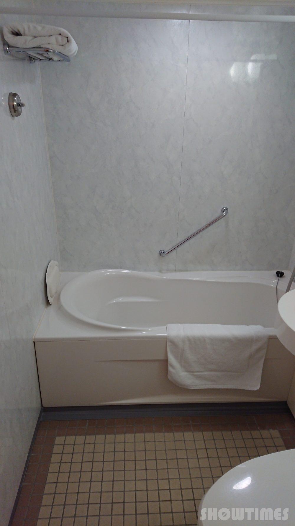 ニューオータニイン札幌プレミアムエグゼクティブツインのバスルーム2