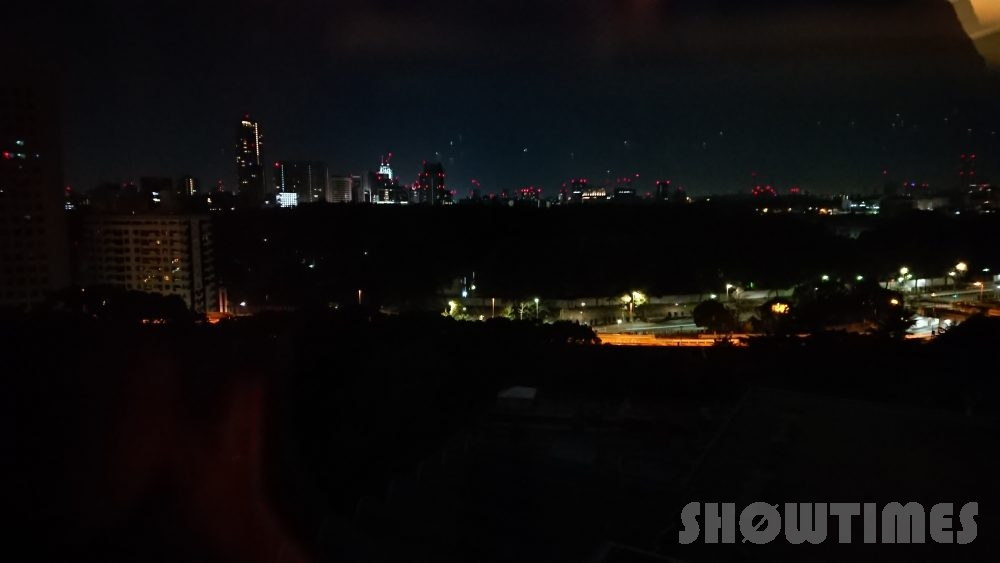 ホテルニューオータニ(東京)新江戸ルームの夜景