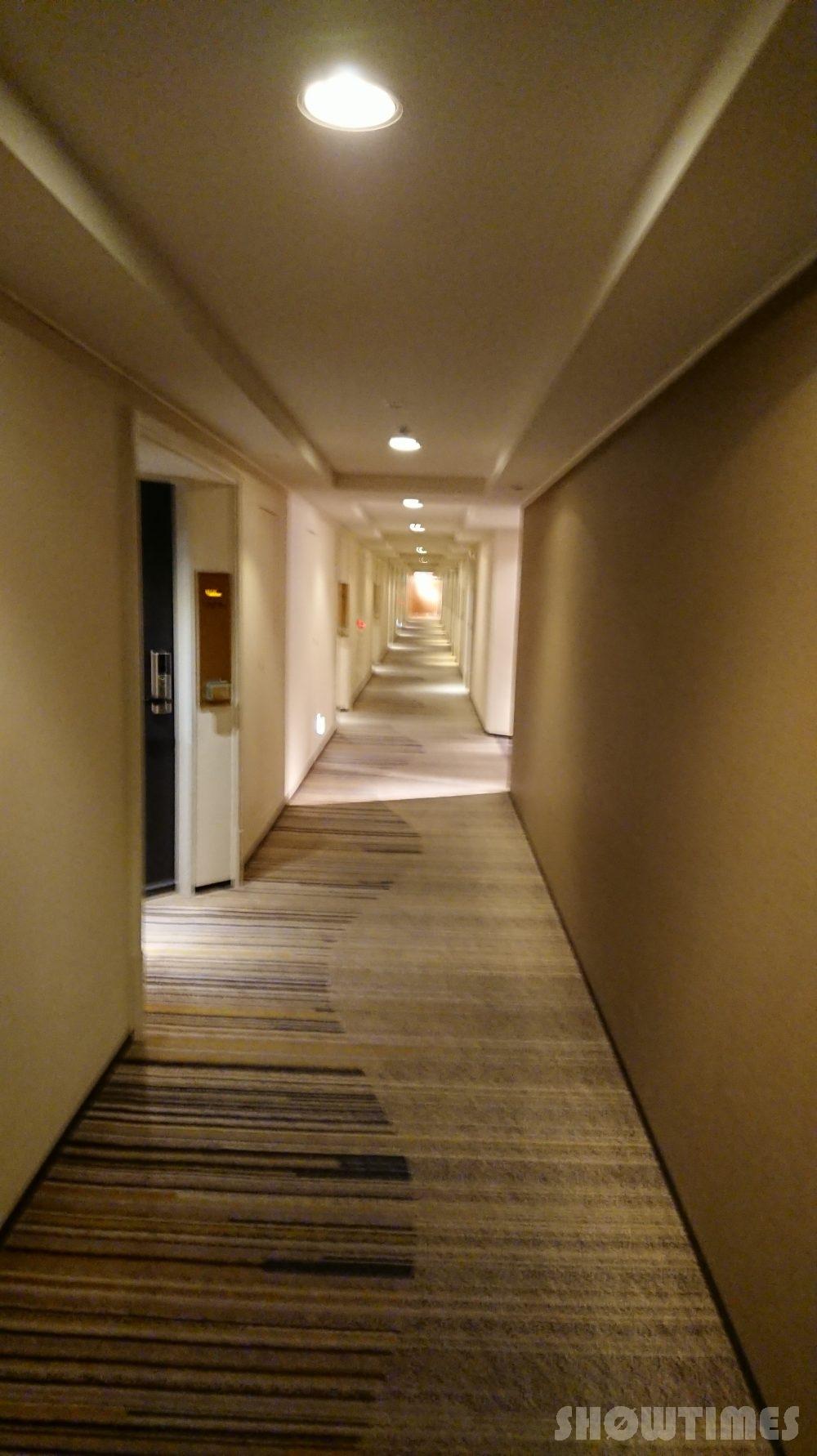 ホテルニューオータニ(東京)新江戸ルーム階の廊下