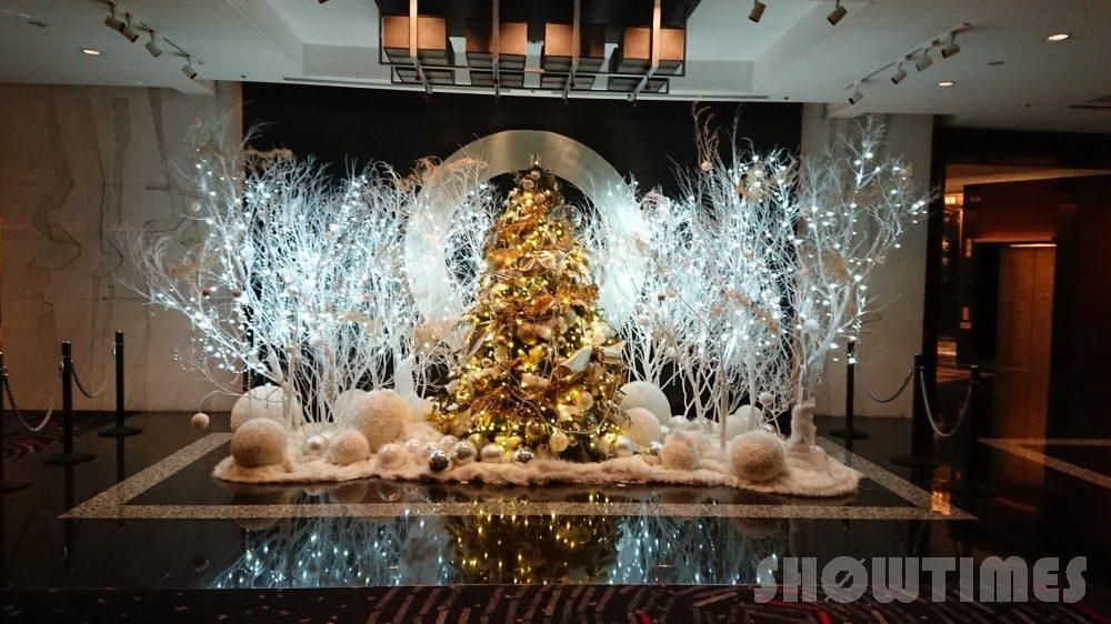 ホテルニューオータニ(東京)ザ・メインのクリスマスツリー