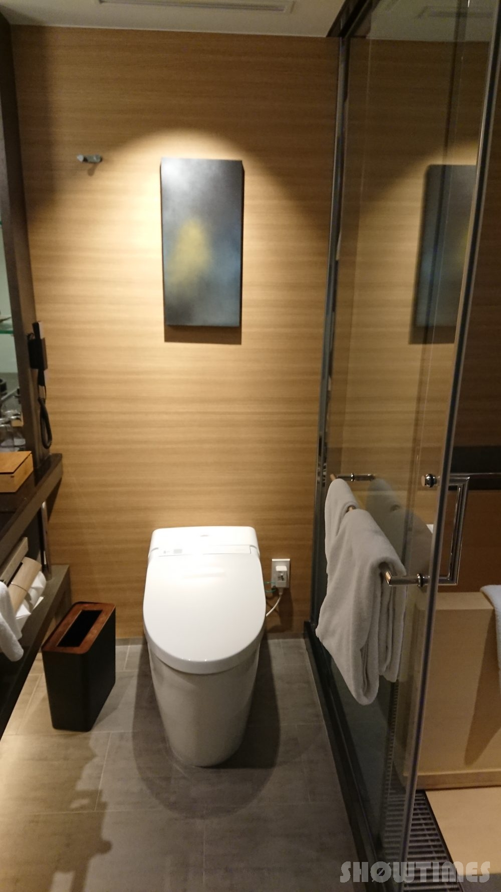ホテルニューオータニ(東京)新江戸ルームのトイレ