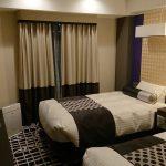 ニューオータニイン札幌プレミアムエグゼクティブツインのベッドルーム1