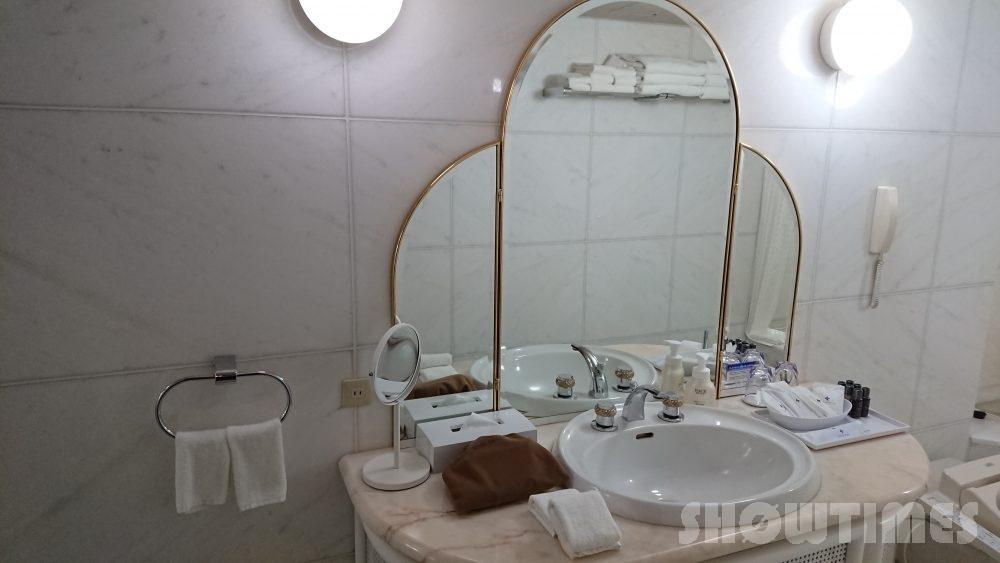 プレミアホテル中島公園デラックスラージダブルのバスルーム2