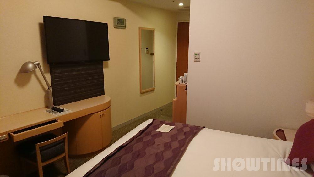札幌プリンスホテルタワースーペリアダブルルームのベッド2