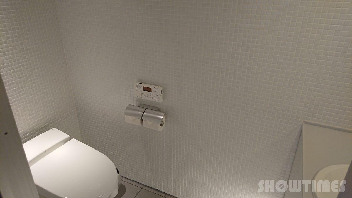 センチュリーロイヤルホテルエクスクルーシヴフロアのトイレ1