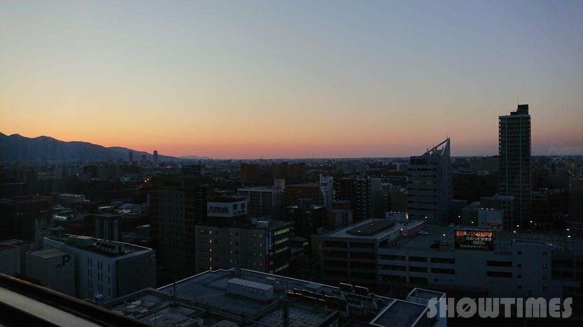 センチュリーロイヤルホテルエクスクルーシヴフロアの眺望1