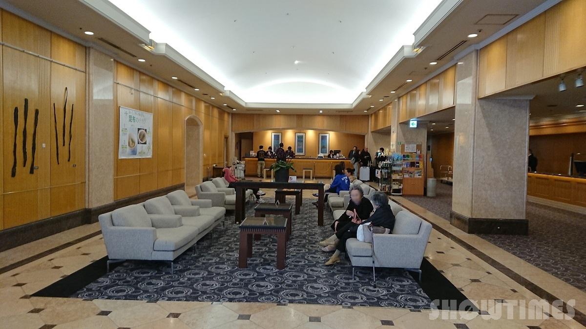 センチュリーロイヤルホテル札幌のロビーフロント