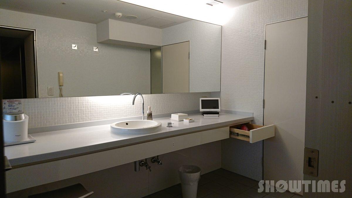 センチュリーロイヤルホテルエクスクルーシヴフロアのバスルーム2