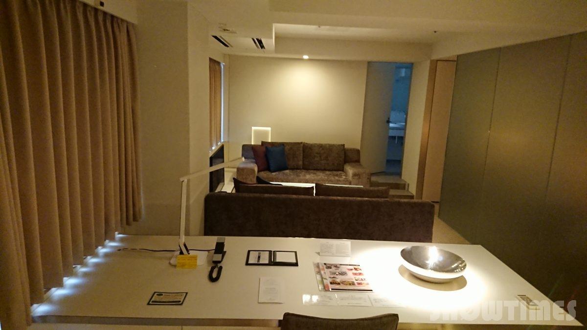 センチュリーロイヤルホテルエクスクルーシヴフロアのリビングルーム1