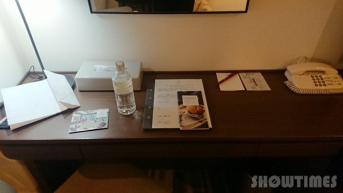 ANAクラウンプラザホテル札幌デラックスダブルのデスク